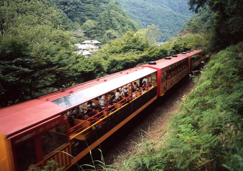 嵐山 トロッコ 列車 予約